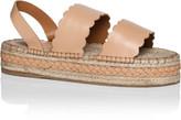 Zimmermann Scallop Esp Sandal Flatform