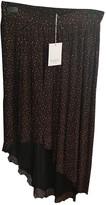 Pablo Burgundy Skirt for Women