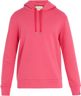Gucci Bead-embellished hooded cotton sweatshirt