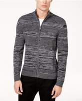 Alfani Men's Textured Full-Zip Cardigan, Created for Macy's