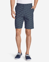 "Eddie Bauer Men's Baja II 9"" Chino Shorts - Print"
