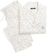 Ralph Lauren Floral Jersey Capri Pajama Set