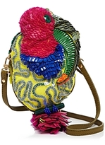 Jamin Puech Toucan Embroidered Crossbody