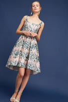 Eva Franco Floral Jacquard Dress
