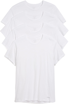 Calvin Klein Underwear 4 Pack Cotton Classic Short Sleeve Crew Neck Tee