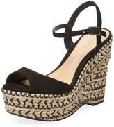 Schutz Women's Veridiane Braided Wedge Sandal
