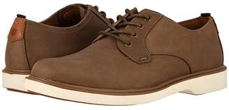 Florsheim Supacush Plain Toe Oxford (Mushroom Crazy Horse) Men's Shoes