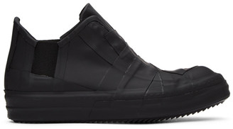Rick Owens Black Rubber Performa Low-Top Sneakers