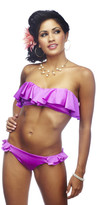 Nicolita Swimwear - Rumba Ruffles Forgiven Pink Bikini Bottom