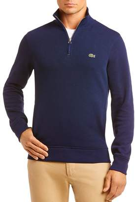 Lacoste Quarter-Zip Classic Fit Sweater