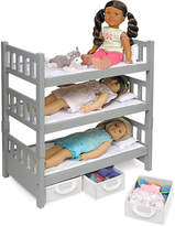 Badger Basket 1-2-3 Convertible Storage Bunk Bed Set for 18'' Dolls