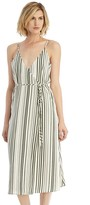 Sole Society Striped Wrap Dress