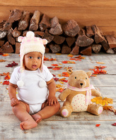 Baby Aspen Clair the Bear Plush Hat & Toy - Infant