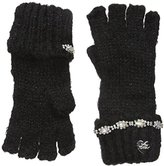 Betsey Johnson Women's On The Rocks Half Finger Gloves