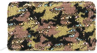 Coohem Knit Tweed Camouflage Pouch