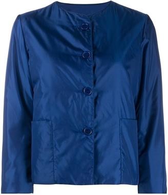 Aspesi Collarless Cropped Jacket