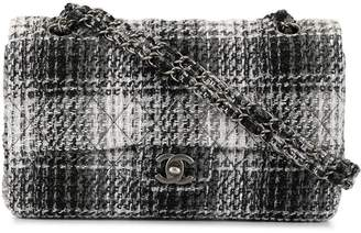 Chanel Pre-Owned checked double flap shoulder bag