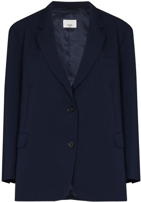 Frankie Shop Bea single-breasted blazer