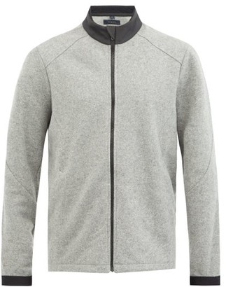 Sease - Maestrale Wool-fleece Track Top - Grey