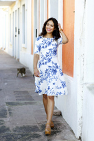 Shabby Apple Sofia Fit and Flare Dress-LIMITED EDITION
