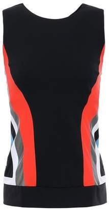 NO KA 'OI Nohona Molu Cutout Striped Stretch-jersey Tank