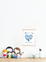 Love is the Greatest Adventure Heart (Canvas Tapestry)