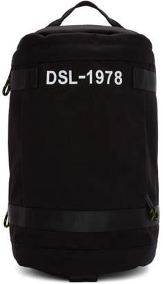 Diesel Black Pieve Backpack