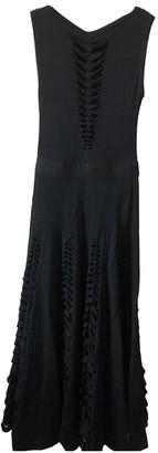 Maison Rabih Kayrouz Black Wool Dresses