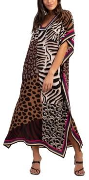 Trina Turk Theodora Silk Midi Dress