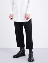Rick Owens Tuxedo regular-fit stretch-wool trousers