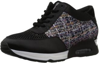 The Fix Amazon Brand Women's Lexi Color/Material-Block Jogger Sneaker