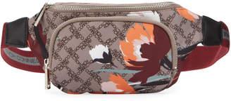 French Connection Ginny Logo-Print Nylon Belt Bag