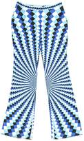 Mary Katrantzou Blue Silk Trousers for Women