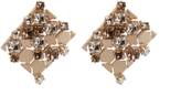 Lanvin Chain Lumiere crystal earrings