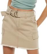 So Juniors' SO D-Ring Belted Twill Skirt