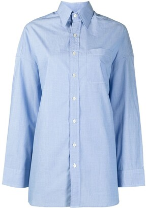 R 13 Oversized Cotton Shirt