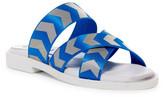 Miista Botega Chevron Slide Sandal