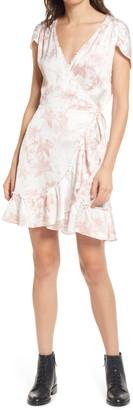 AllSaints Zinnia Evolution Wrap Dress