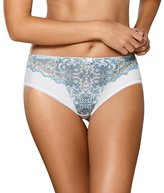 Gaia 646P Madeline women's briefs floral embroidery (matching bra