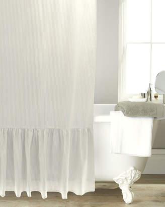 B. Smith Park Metro Farmhouse Stripe & Ruffle Shower Curtain