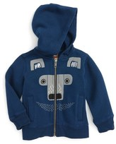 Tea Collection Infant Boy's Moon Bear Zip Hoodie