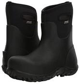 Bogs Workman Mid Composite Toe (Black) Men's Rain Boots