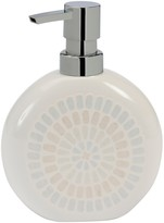 Creative Bath Taupe/Blue Capri Lotion Dispenser