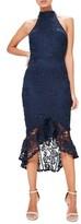 Missguided Women's Lace Midi Dress