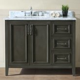 "Ari Kitchen & Bath Jude 42"" Single Bathroom Vanity Set Base"