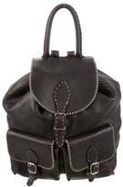 Fendi Leather Selleria Backpack