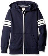 Scout + Ro Little Boys' Zip-Front Hoodie Jacket,6