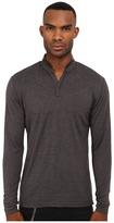 The Kooples Silk Blend Henley Men's T Shirt