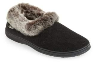 Acorn 'Chinchilla Collar' Faux Fur Slipper