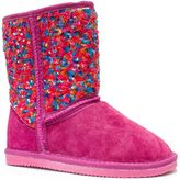 Lamo Girls' Sequin Stripe Boots